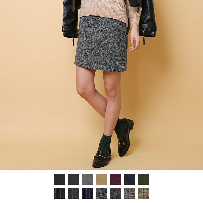 スカート《タイトスカート ショート&ミディアム丈ベーシックタイトスカート 全14色》