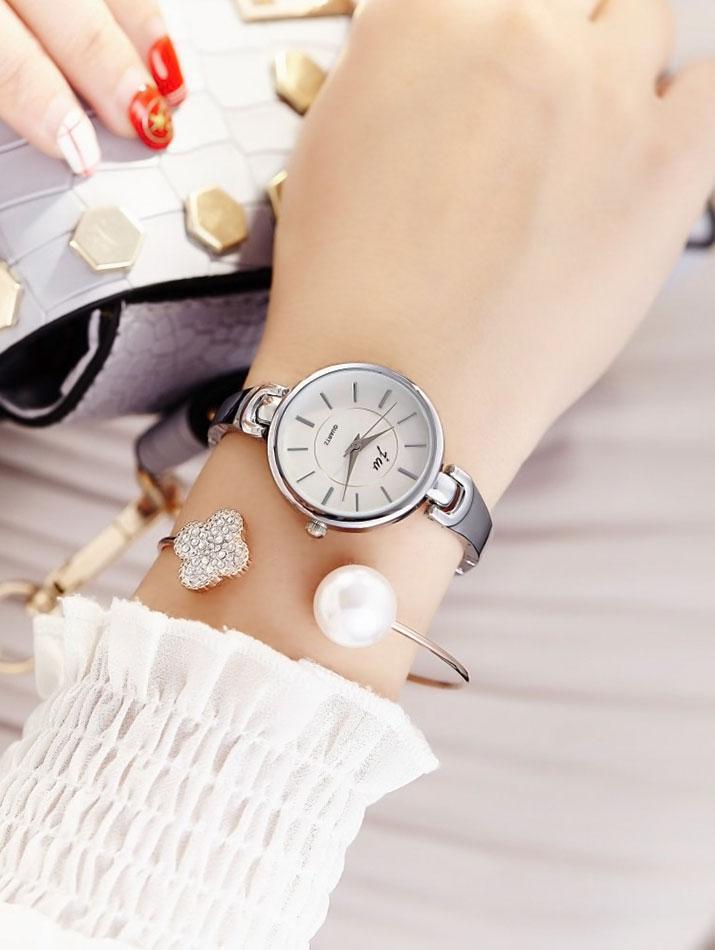 腕時計《チェーンベルトシンプルドレスウォッチ 全2色》